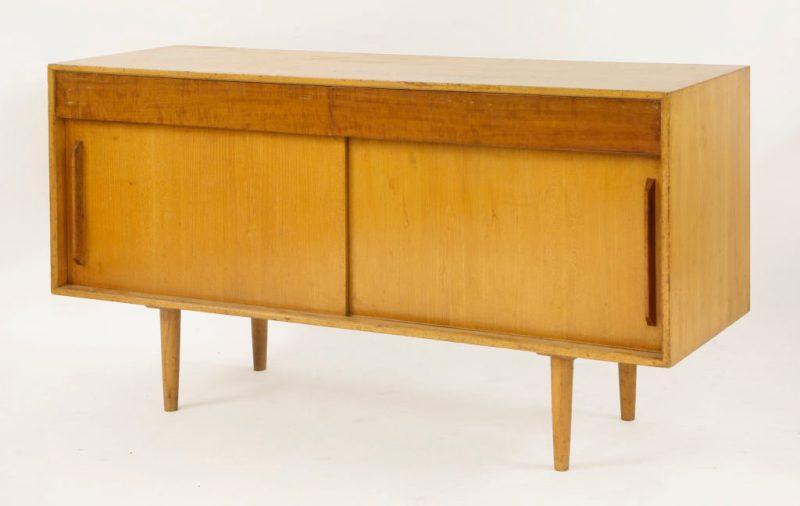 A teak 'Hilleplan' sideboard, designed by Robin Day for Hille, c.1950s
