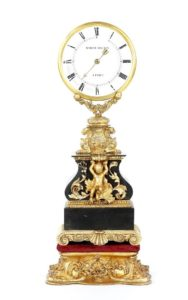 A rare mystery clock by the father of modern magic, Jean Eugene Robert-Houdin