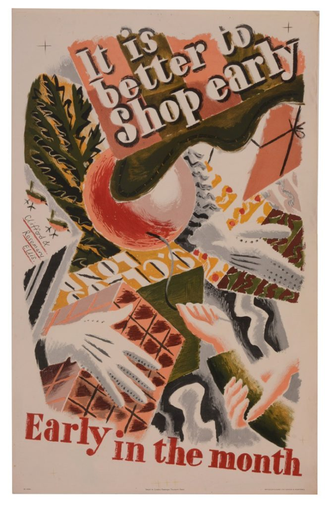 Clifford & Rosemary Ellis, It Is Better To Shop Early,