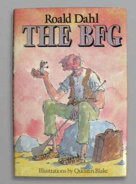 Signed first edition of Roald Dahl's BFG
