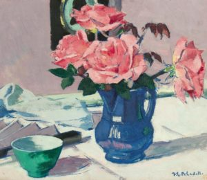 F.C.B. Cadell (1883-1937) A Still Life of Roses