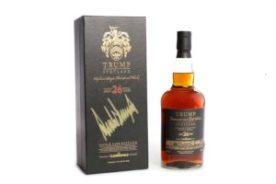Trump's single malt whisky