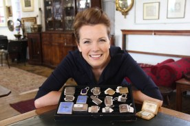 A collection of vesta cases and lighters with Christina Trevanion