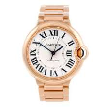 Cartier 18ct rose gold Ballon Bleu bracelet watch