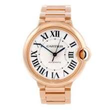 Cartier 18ct rose gold Ballon Bleu bracelet watch