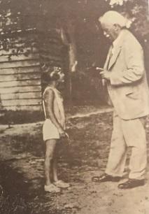 David Lloyd George and his daughter Jennifer