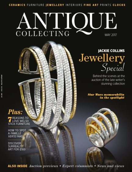 Antique Collecting magazine May 2017
