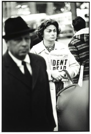Richard Avedon Kennedy Assassination Times Square