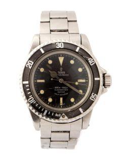 Tudor Rolex Submariner steel wristwatch
