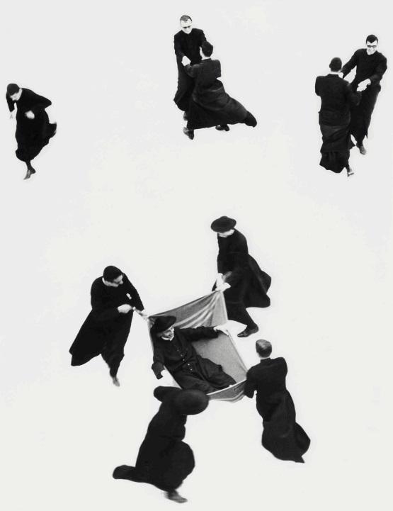 δ Mario Giacomelli (1925-2000) Io Non Ho Mani Che Mi Accarezzino Il Volto, 1961 Gelatin silver print, printed 1980s, signed in pencil with photographer's copyright and series stamps verso, 40.5 x 30.4cm (15 ⁷/₈ x 12in)