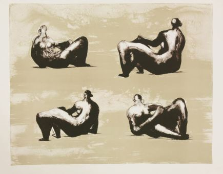 Henry Moore - FOUR RECLINING FIGURES