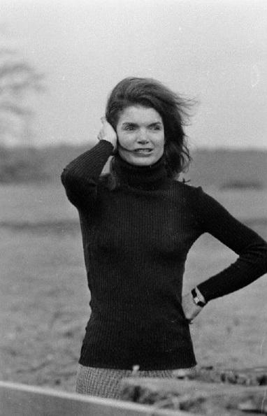 Jackie Kennedy wearing her Cartier Tank watch