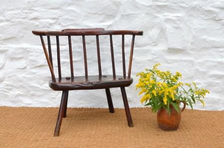 Primitive Welsh stick chair