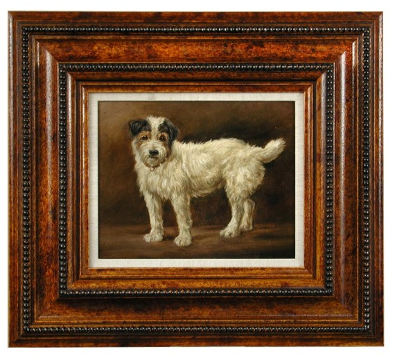 'Caesar, The King's Dog' by George Earl ( 1824-1908)