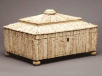 antique sandalwood box