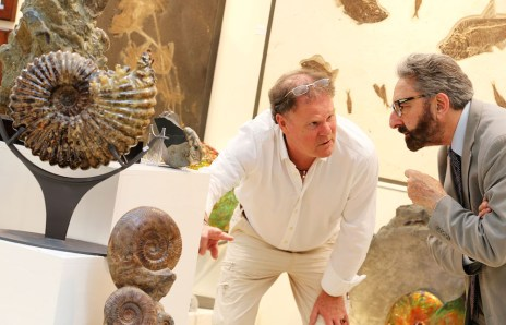 Visitors to Art & Antique Olympia Fair