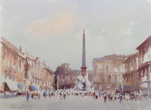 Edward Seago painting