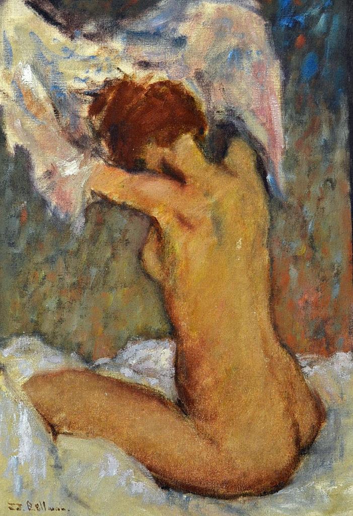 Ken Moroney oil painting