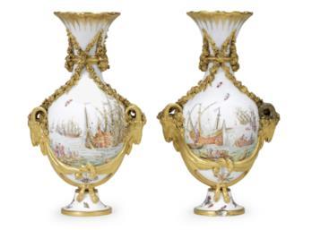 Pair of Royal Sevres vases
