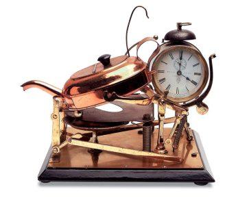 antique mechanical teas maid