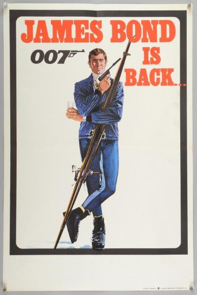 James Bond is Back poster