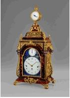 George III musical clock