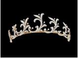 Gold, platinum and diamond tiara