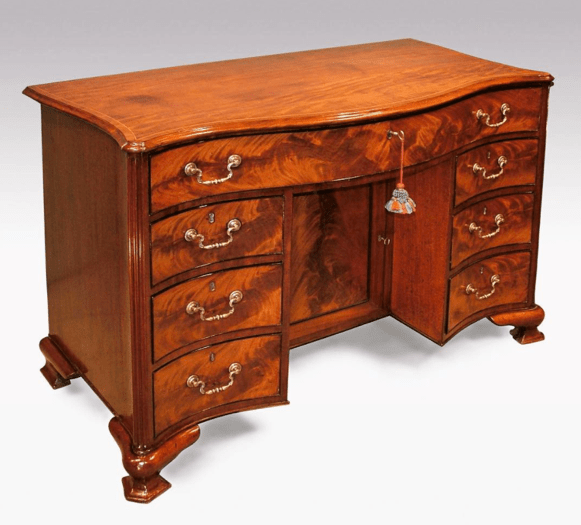 An antiques desk from Patrick Sandberg
