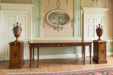 Chippendale Sideboard suite Dining Room Paxton House c1776 copyright John Hammond