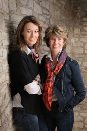Rachel McGrath and Carole Hobson