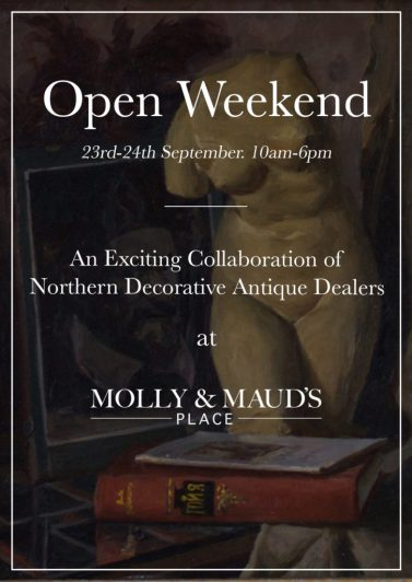 Open Weekend at Molly and Maud's