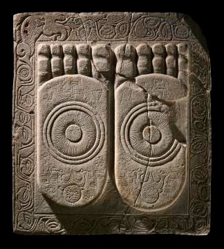 Ancient stone carving