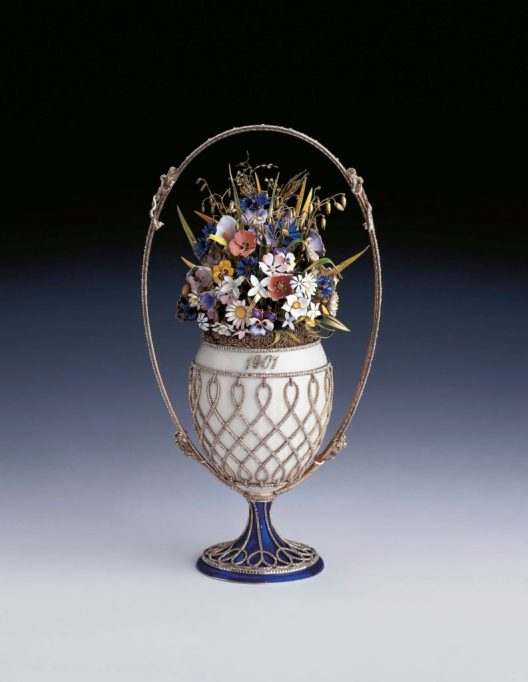 Fabergé, The Basket of Flowers Egg, 1901, Royal Collection Trust / © Her Majesty Queen Elizabeth II 2017