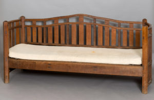 Arts and Crafts sofa by furniture maker and designer Sidney Barnsley