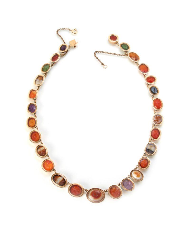 Roman Intaglio necklace sold for £28000
