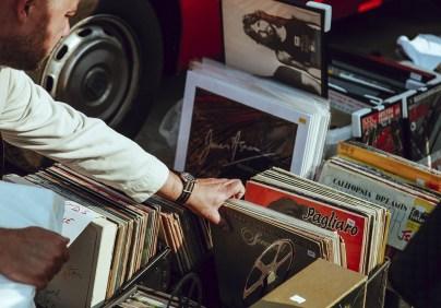 Collecting memorabilia can include vintage vinyl