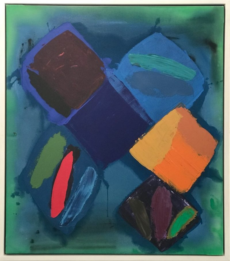 John Hoyland - Loving Lady, 1981