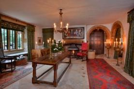 Refectory table in West Hall Dorset