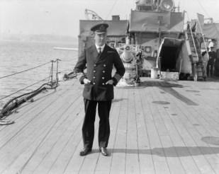 Vice-Admiral Gordon Campbell, Royal Navy,