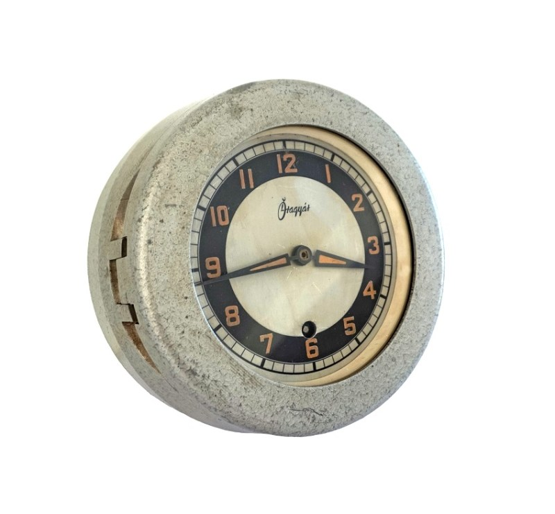 1950s submarine clock £295 - Good Time Antiques