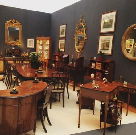 A shop full of authentic antiques