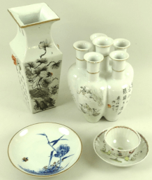 Collection of Chinese ceramics