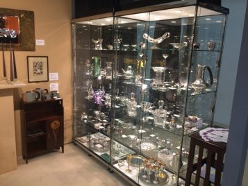 LAPADA award for best use of display cabinets went to Perthshire-based Decorative Arts @ Doune