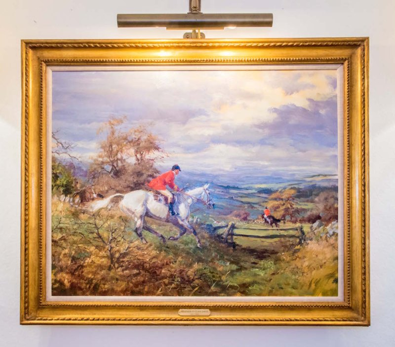 Horse painting by Heather St Clair Davis
