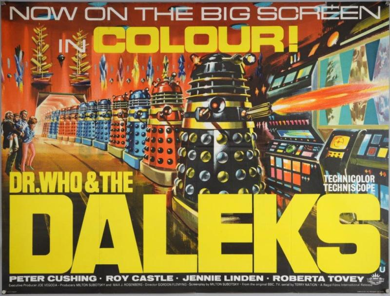 Dr Who film poster
