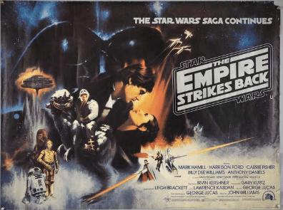 Empire Strikes Back film poster