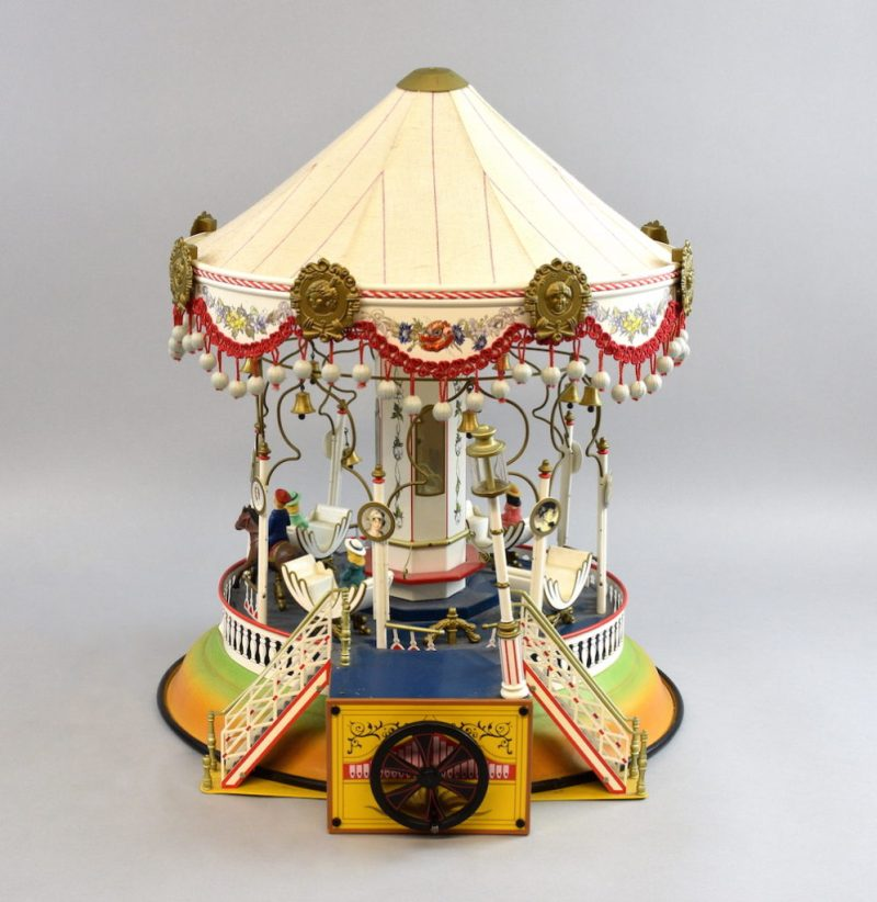 A Marklin 16121 carousel, on sale, with a pre-sale estimate of between £150 and £250