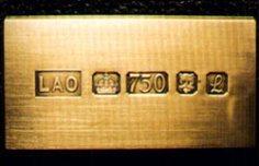 Antique Gold Hallmarks Question Silver Hallmarks on Jewelry