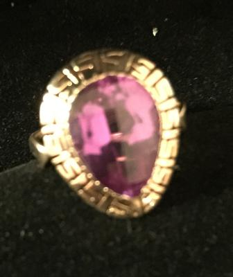 Antique Natural Russian Alexandrite Ring