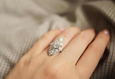 Antique Wedding Rings Twist Amp Shout